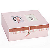 Pearhead Babyprints Keepsake Box Pink