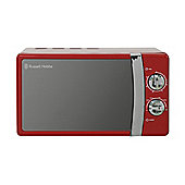 Russell Hobbs RHMM701R 17 Litre Manual Microwave, Red