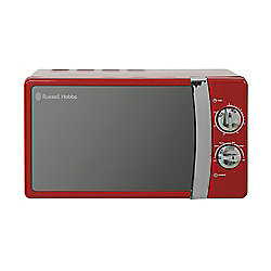 Russell Hobbs RHMM701R Manual Microwave, 17L - Red