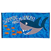 Tesco Shark Beach Towel