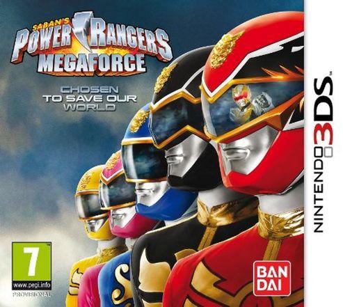Power Rangers Megafore N3Ds