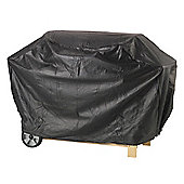 Lifestyle 4 Burner Hooded Barbeque Cover (Black)