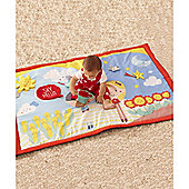East Coast Baby Sensory Say Hello Friends Double-Sided Activity Mat