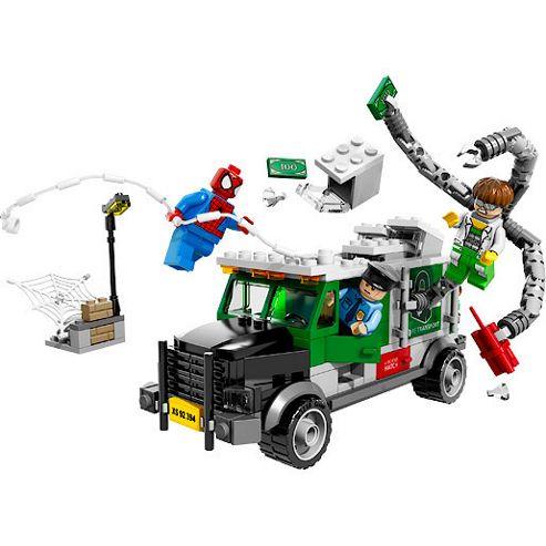LEGO Marvel Super Heroes Ultimate Spider-Man: Doc Ock Truck Heist 76015