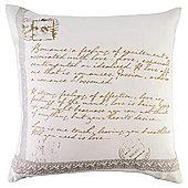 Script Detail Cushion
