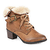 Relife by Pavers Lace Up Boot - Tan