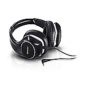 Denon AH-D340 Music Maniac On-Ear Headphones with 2-Axis Ear Cup Design