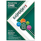 Kaspersky Lab One Uni Security (3 Device 1 Year) (UK) (KL1931UXCFS)