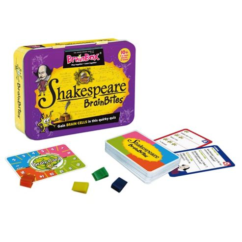Green Board Game Co. BrainBites shakespeare