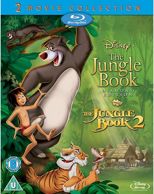 The Jungle Book Boxset - Bluray
