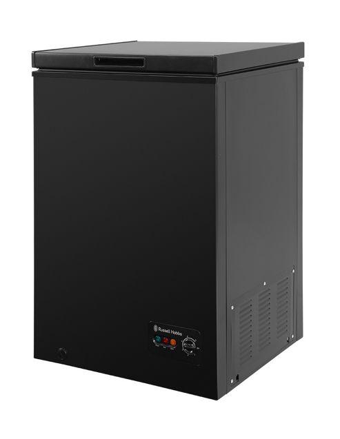 buy russell hobbs black 99 litre chest freezer rhcf99b. Black Bedroom Furniture Sets. Home Design Ideas