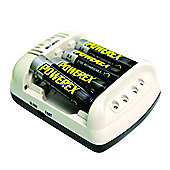 MH-C401FS 100-Minute Cool Charger with 4 x 2700mAh Batteries