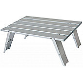 Yellowstone Lightweight Aluminium Camping Table Silver