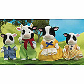 Sylvanian Families - Friesian Cow Family