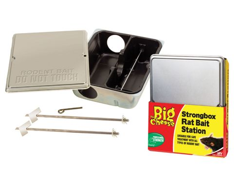 Stv Stv175 Strongbox Rat Bait Station