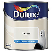 Dulux Matt Emulsion Paint, Timeless, 2.5L