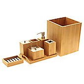 Woodquail Bamboo Accessory Set
