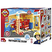 Fireman Sam Electronic Pontypandy Fire Station Playset