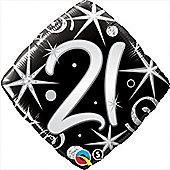 18' 21st Elegant Sparkles & Swirls (each)