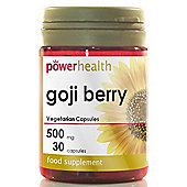 Power Health Goji Berry Capsules 500mg 30 Capsules
