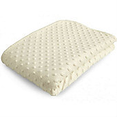 Baroo Luxury Bubble Pram Blanket (Cream)