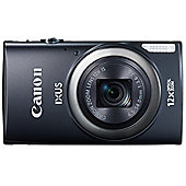 "Canon Ixus 265 Digital Camera, Black, 16MP, 12x Optical Zoom, 3"" LCD Screen, Wi-Fi"