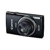 Canon IXUS 265 HS Camera Black 16MP 12xZoom 3.0LCD FHD 25mm Wide Lens