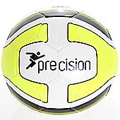 Precision Santos Training Ball White/Fluo Yellow/Black Size 5