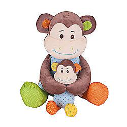 Bigjigs Toys Cheeky Monkey 34cm Soft Plush Toy