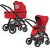 Bebecar Hip Hop Urban Magic Plus Black Combi Pram (438)