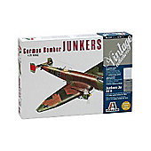 German Bomber Junkers Ju 86 D - 1:72 Scale - Model Kit - 114 - Italeri