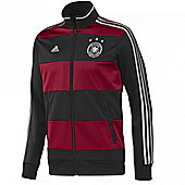 2014-15 Germany Adidas Track Jacket (Red-Black) - Red