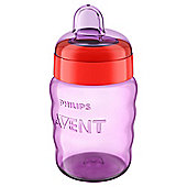 Philips Avent Easy Sip Spout Cup 9oz in Pink SCF553/13