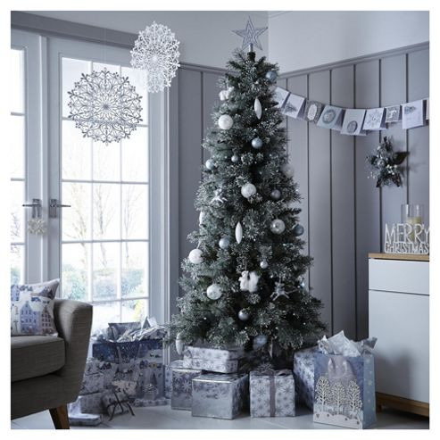 buy luxury alpine snow christmas tree from our. Black Bedroom Furniture Sets. Home Design Ideas