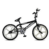 Rooster Big Daddy BMX Black with White Skyways