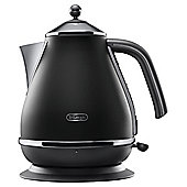 Delonghi Vintage Icona 1.7L Jug Kettle - Black