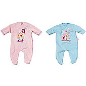 Baby Born Sleep Well Romper (one supplied)
