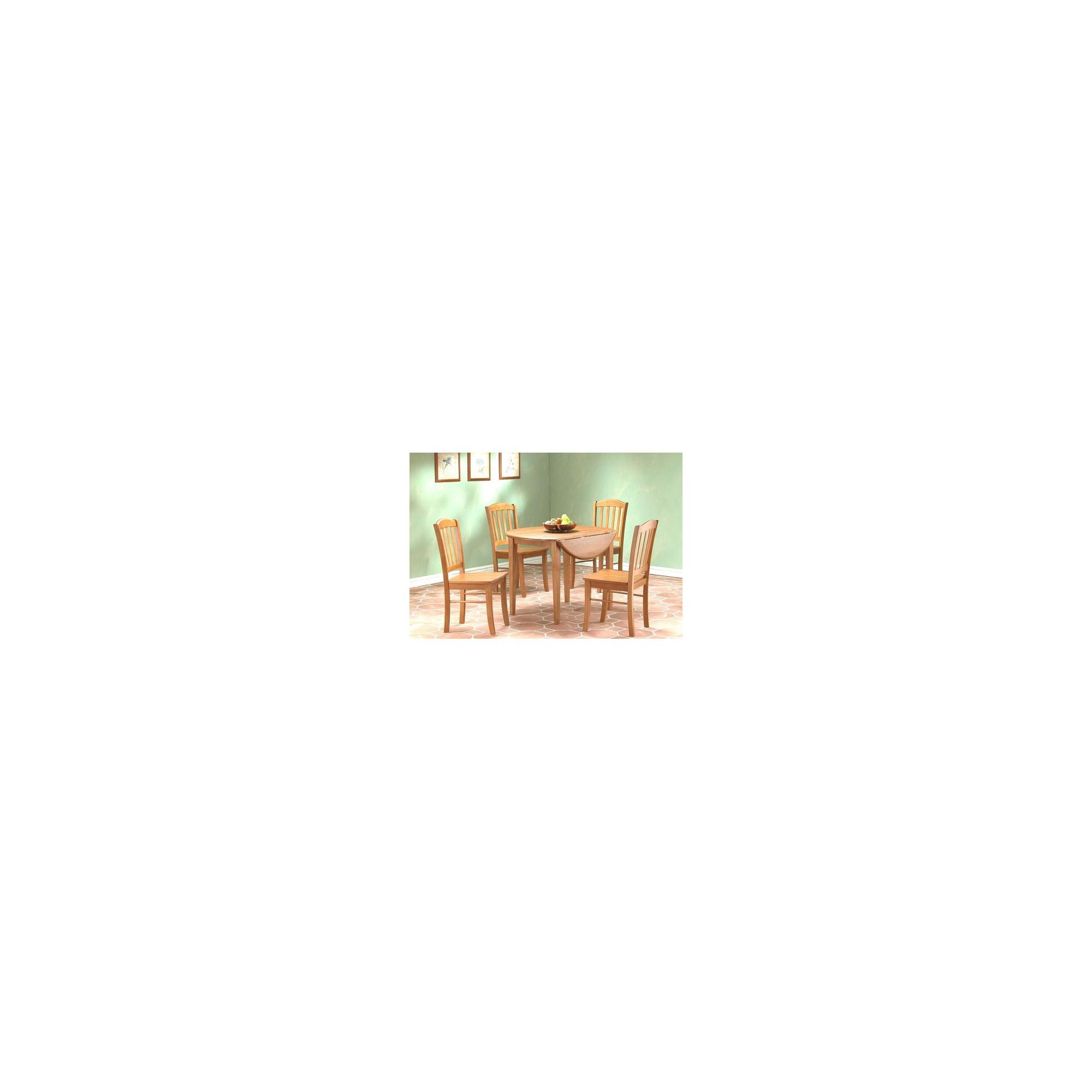 Heartlands Southall Drop Leaf 5 Piece Dining Set - Natural at Tescos Direct