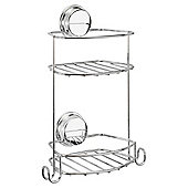 Stick N Lock plus compact two tier basket