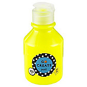 Go Create Ready Mixed Paint 150ml - Neon Yellow
