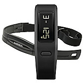 Garmin Vivofit Fitness Tracker with Heart Rate Monitor, Black