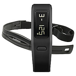 Garmin Vivofit Fitness Tracker with Heart Rate Monitor, Black