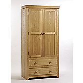 Home Essence Hamilton 2 Door 2 Drawer Wardrobe
