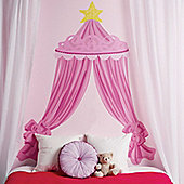 Pink Canope Headboard Wall Sticker