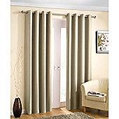 Enhanced Living Wetherby Eyelet Cream Curtains 117X137cm