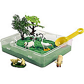 Jacks Farm Sand Scene Playset
