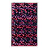 Dickins & Jones Floral Stripe Beach Towel