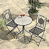 Selima Mosaic Cast Iron Bistro Set