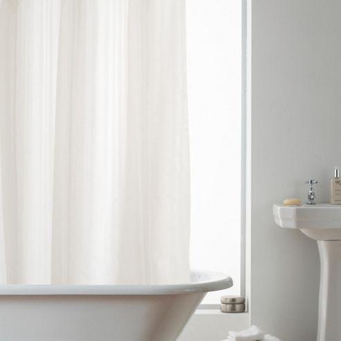 Modern Makeover Hookless Shower Curtain in Stripe