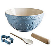 Mason Cash Gingerbread Man Baking Set in Blue